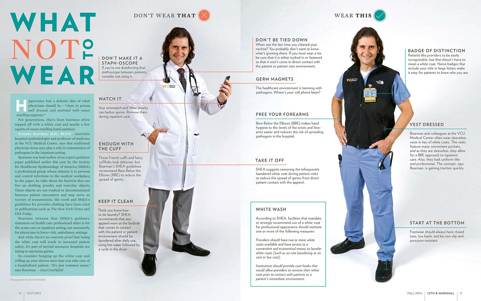 The white coat: Symbol of professionalism or hierarchical