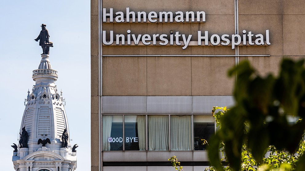 The disaster at Hahnemann University Hospital